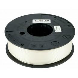 Bobina filamento Bioflex Antibatterico 1,75mm 250gr Bianco FiloAlfa stampante 3D