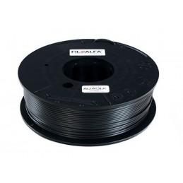 Bobina filamento PLA AlfaSilk 1,75mm 250g Nero velluto FiloAlfa stampante 3D