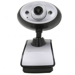 Webcam usb 2.0 480p 640x480 con microfono per pc notebook Skype videochiamata