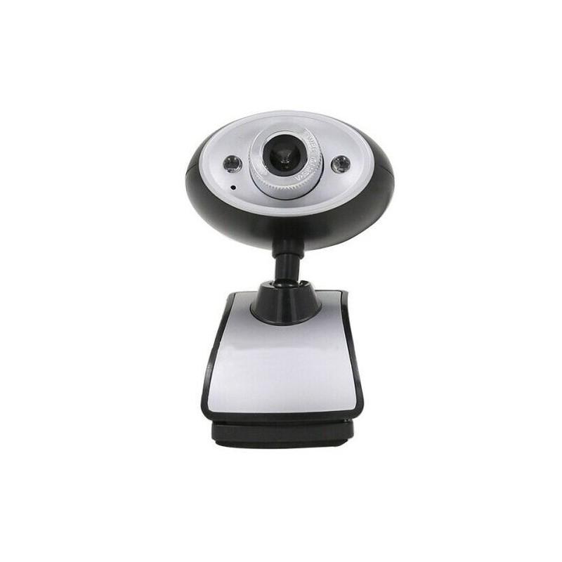 Webcam usb 2.0 480p 640x480 con microfono per pc notebook Skype videochiamata
