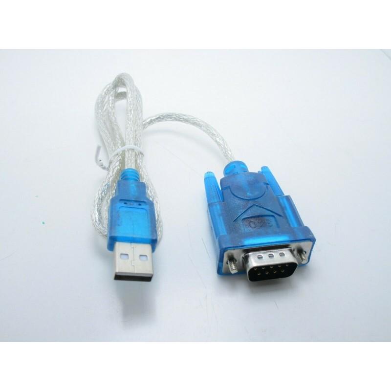 Adattatore convertitore da usb a porta seriale RS232 COM PDA DB9 9 pin hl-340