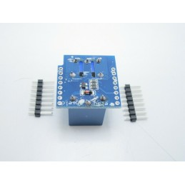 Shield one con relè 1 canale 5v -  220v 10A  per wemos d1 mini V3.0.0