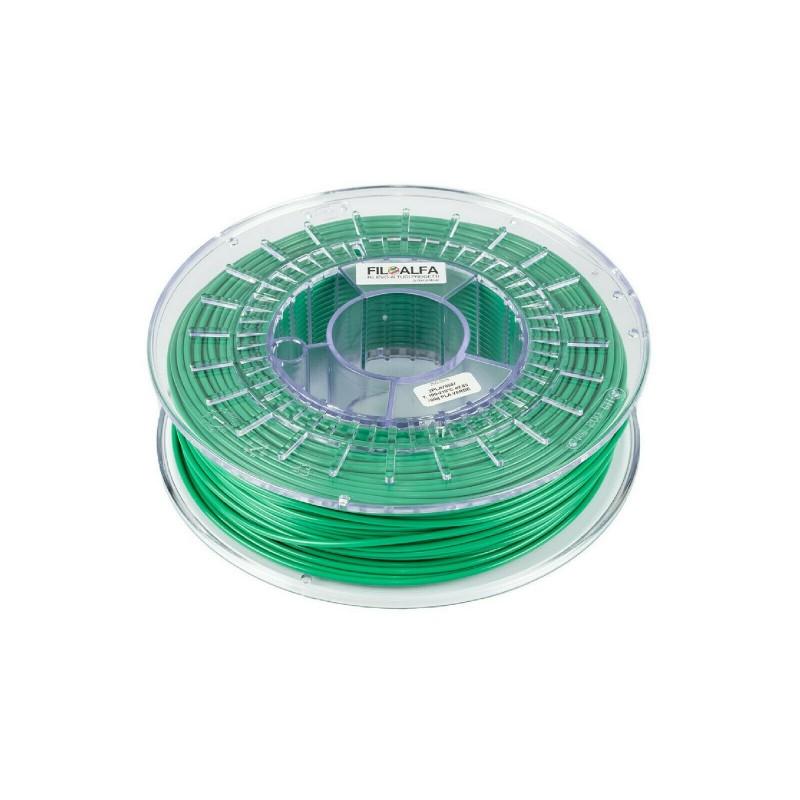 Bobina filamento PLA 1,75mm 700gr Verde FiloAlfa 170-210°c stampante 3D
