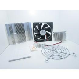 Kit dissipatore ventola 12v 92mm per cella peltier sistema di raffreddamento