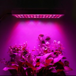 Lampada led grow 45w 144 diodi uv per idroponica crescita piante giardino