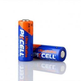 Batteria 23A 12V alcalina PKCELL per telecomando cancello auto allarme sensori