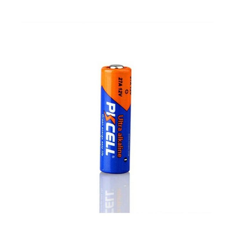 Batteria 27A 12V alcalina PKCELL per telecomando cancello auto allarme ricevente