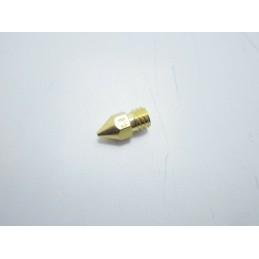 Ugello nozzle 0.8mm M6 in ottone per estrusore PLA 1,75mm 3mm stampante 3D MK8