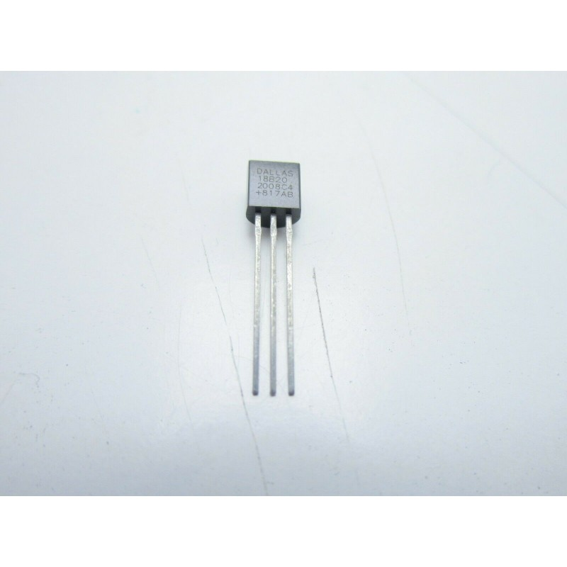 DS18B20 Sensore di temperatura da -55 a 125°C to-92 18B20 18S20 per arduino