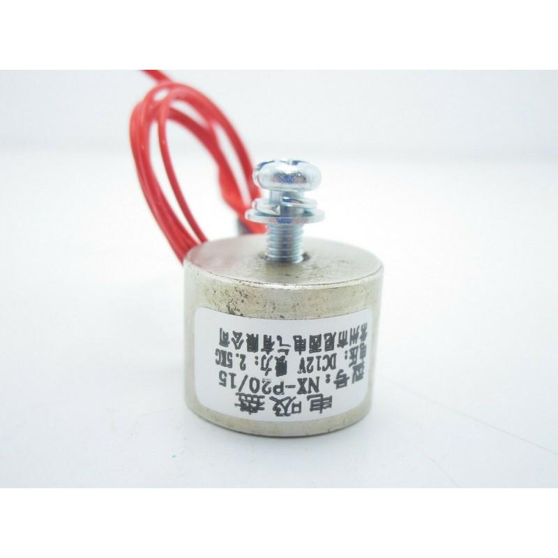 Calamita solenoide elettromagnete elettrocalamita 2,5kg 25N 12v P20/15