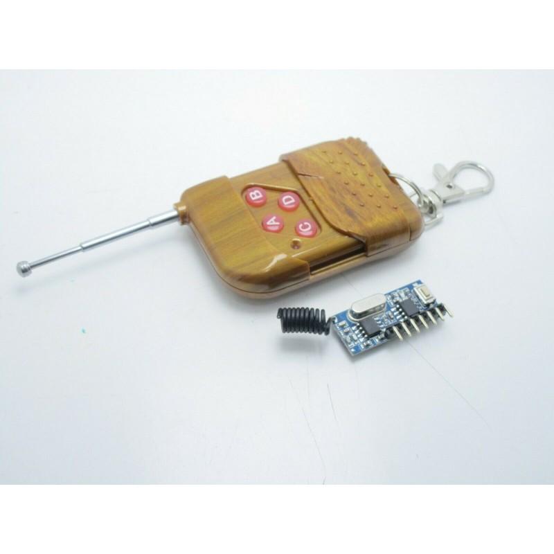 Ricevitore ricetrasmettitore wireless 433MHZ RF RX480E con telecomando 4 canali