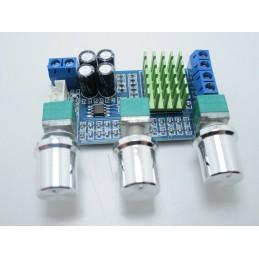 Amplificatore audio stereo TPA3116D2 12v 24V 5A a doppio canale 2X80W 4-8ohm