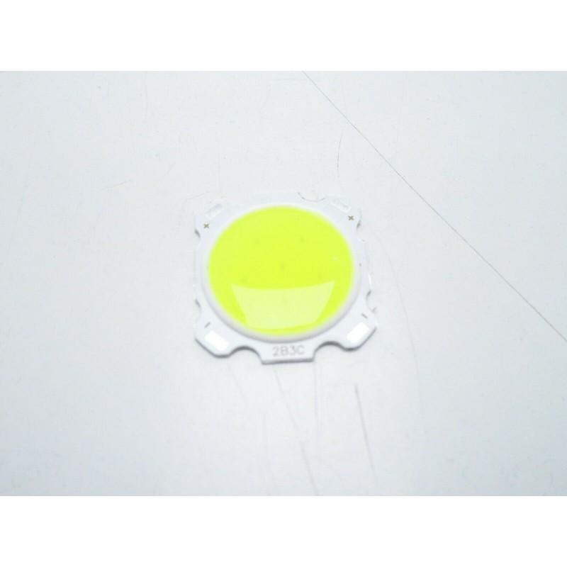 LED COB 3w 2B3C bianco freddo 6500k 300lm 9-12v 260mA