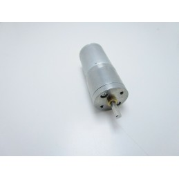 Motoriduttore 12v 60 RPM motorino in metallo con riduttore 130N 25mmx74mmx4mm