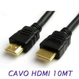 Cavo HDMI HDTV 10 metri per monitor tv pc