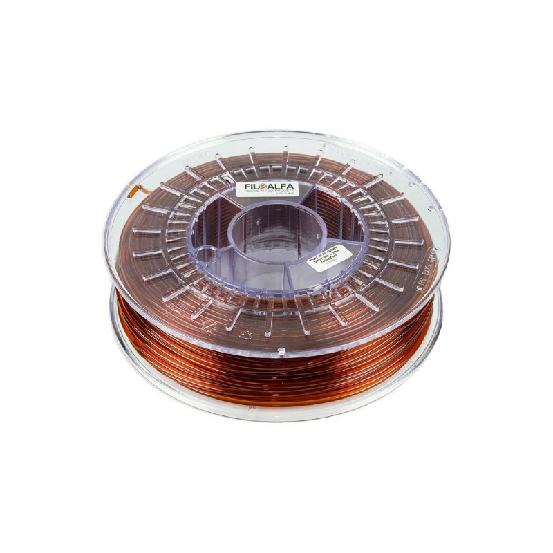 Filamento PLA 1,75mm 700g AMBRA bobina FILOALFA per stampante 3D Prusa Ender