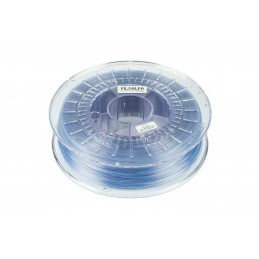 Filamento PLA 1,75mm 700g Azzurro trasparente bobina FILOALFA per stampante 3D