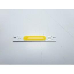 Chip led strip 3w bianco caldo 9-12v 300lm 3000k ricambio faretti 5x7mm