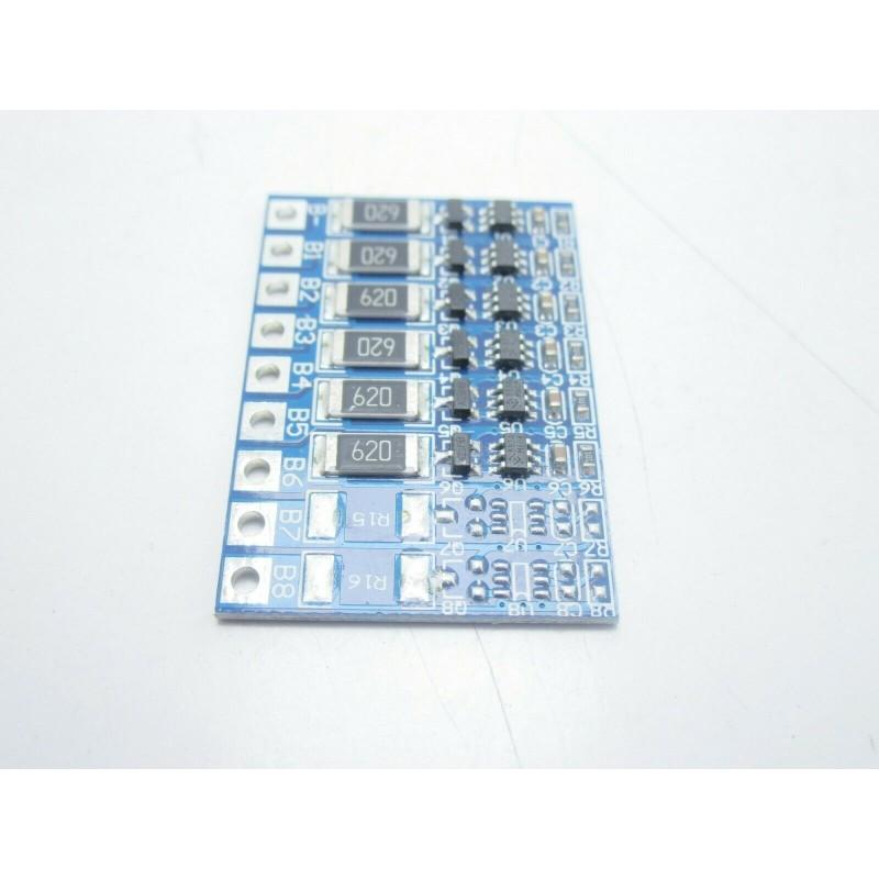 Circuito di bilanciamento carica 6 celle per pacchi batterie litio lipo 18650