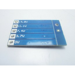 Circuito di bilanciamento carica 4s pacco batteria litio lipo 18650 3,7v a 14,8v