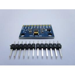 Modulo mpu-9250 giroscopio accelerometro campo magnetico 9 assi arduino i2c spi