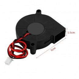 Ventola di raffreddamento 12v 5015 50mmx15mm 6800rpm 0,28A per stampante 3D cpu