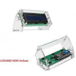 Supporto display 1602 LCD 16x2 in plastica trasparente modulo per arduino