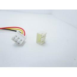 3pz Connettori JST 3 pin hx-3pin femmina maschio passo 2,54mm 1007 24awg 15cm