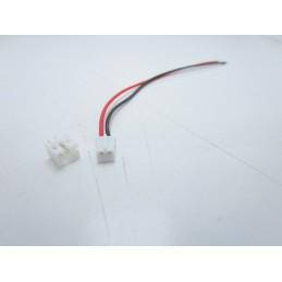 3pz Connettori JST 2 pin hx-2pin femmina maschio passo 26 awg 2,54mm 12cm
