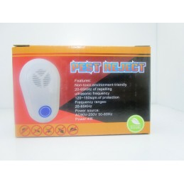 Dispositivo elettrico repellente a ultrasuoni per insetti zanzare mosche ratti