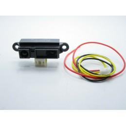 Sensore di rilevamento distanza prossimità a infrarossi da 10 a 80cm GP2Y0A21YK0