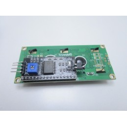 Modulo display LCD 1602 16X2 retroilluminato blu + interfaccia seriale I2C/IIC