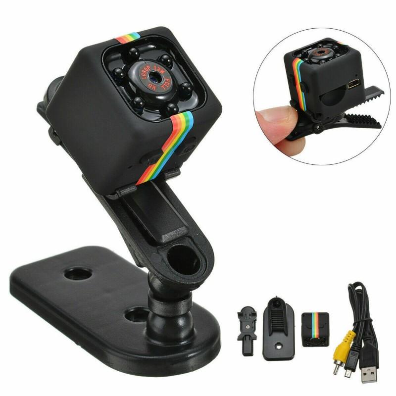 Mini fotocamera telecamera 480p spia nascosta con registrazione e clip montaggio