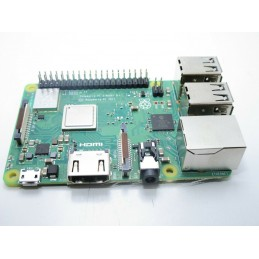 Raspberry Pi 3 Modello B + 2017 1gb LPDDR2 cpu Broadcom Quad core A53 64 bit