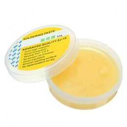Flussante gel pasta saldante in barattolo 50g flux paste PH7 ± 0.3 per smd