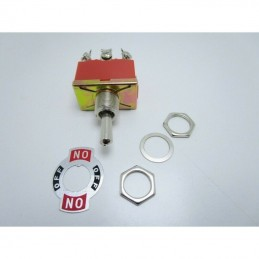 Interruttore a leva bipolare 6 pin 3 posizioni E-TEN-1322 15A 250V 31X19X8mm