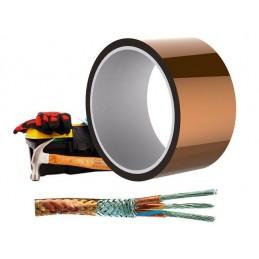 Kapton tape nastro adesivo termico 50mm 33 m alte temperature protezione termica
