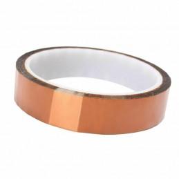 Kapton tape nastro adesivo termico 20mm 33mt alte temperature protezione termica