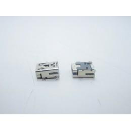 2pz Connettore mini usb femmina 5 pin a saldare pcb