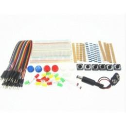 Kit elettronica mini breadboard led 5mm dupont fotoresistenze jack 9v resistenze