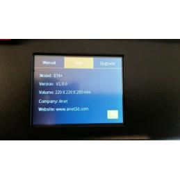 Anet ET4 Stampante 3D 220X220X250mm FDM con filamento FILOALFA PLA 1,75mm 700gr