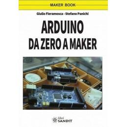 Arduino da zero a maker libro di Giulio Fieramosca Stefano Panichi 164 pagine