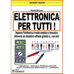 Elettronica per tutti pratico con simulatore software libro Paolo di Leo