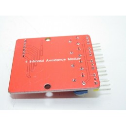 Sensore ir infrarossi rilevamento ostacoli distanza da 1cm a 60cm 5v regolabile