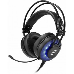 Cuffie usb a filo per gaming surround Skiller Sharkoon SGH2 con microfono volume