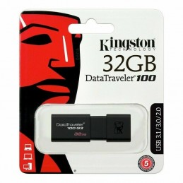 Pendrive pen drive chiavetta USB 32gb usb 3.0 Kingston DataTraveler 100 g3