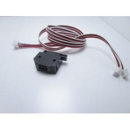 Sensore di rilevamento rottura filamento PLA ABS 1,75mm 3.0mm per stampante 3D