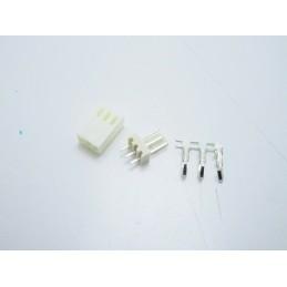 10 Connettori terminali 2,54mm 3 pin KF2510 per circuiti stampati