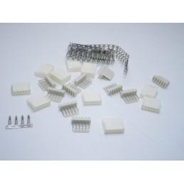 Kit connettori JST-HX 6 pin maschio e femmina passo 2.54mm per lipo ventole