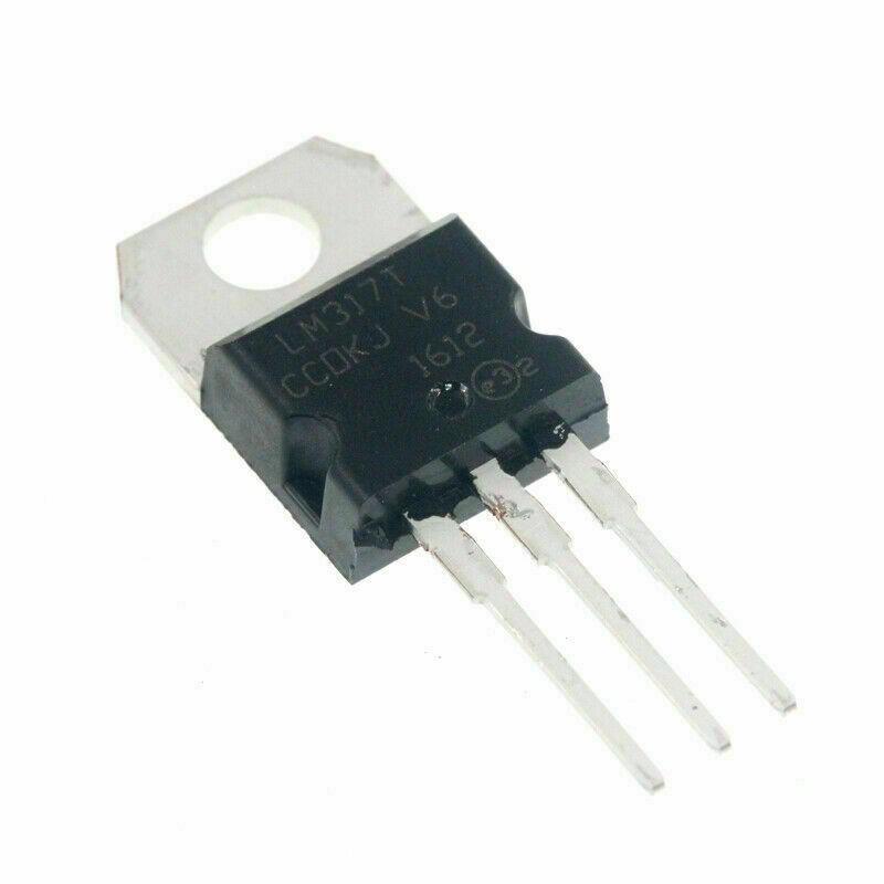 LM317 Regolatore di tensione integrato variabile LM317T TO-220 1,5A 2 pezzi